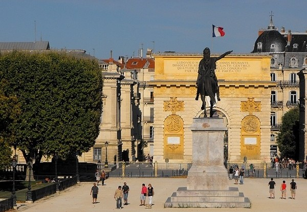Montpellier-Peyrou-Southern-France
