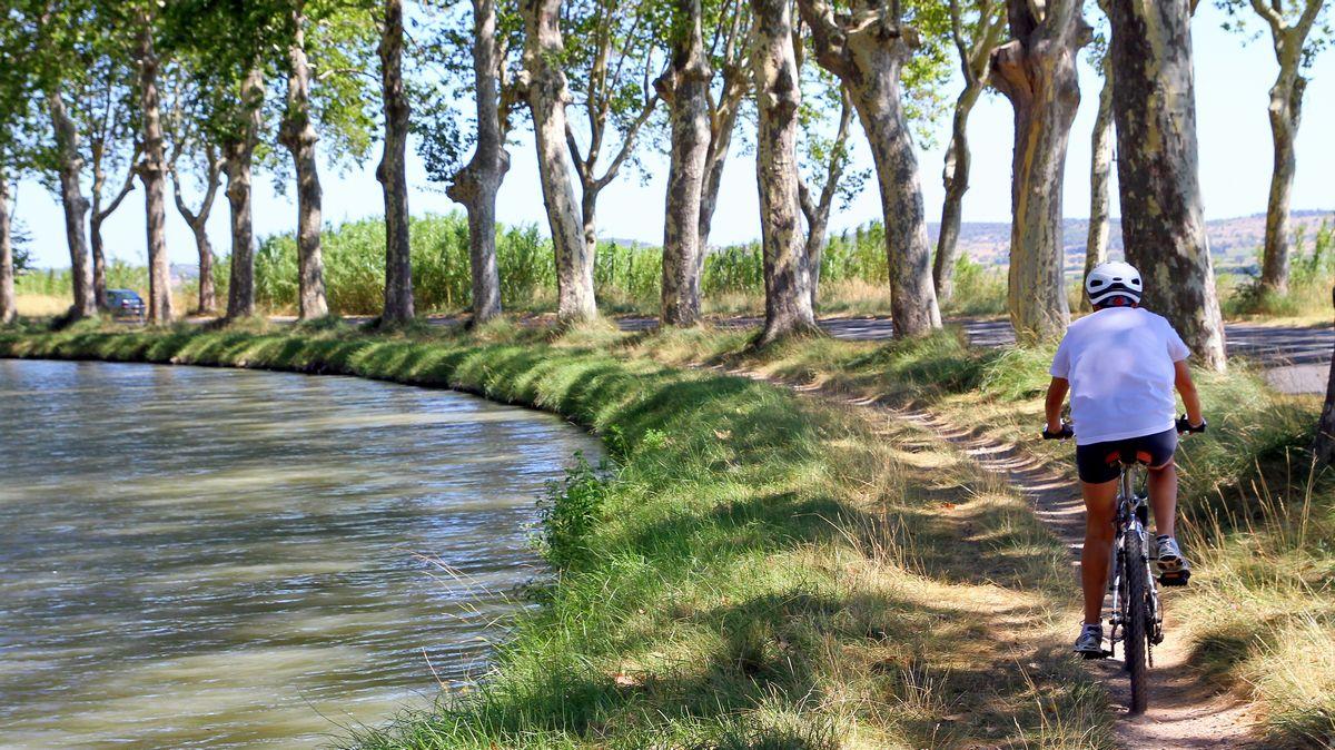 biking Canal du midi france travel