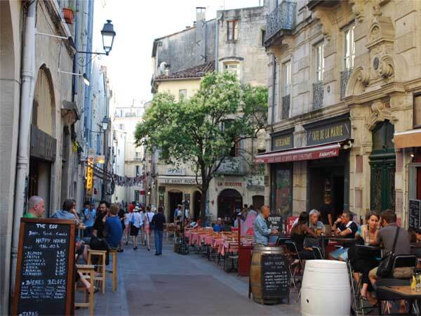 cafe montpellier