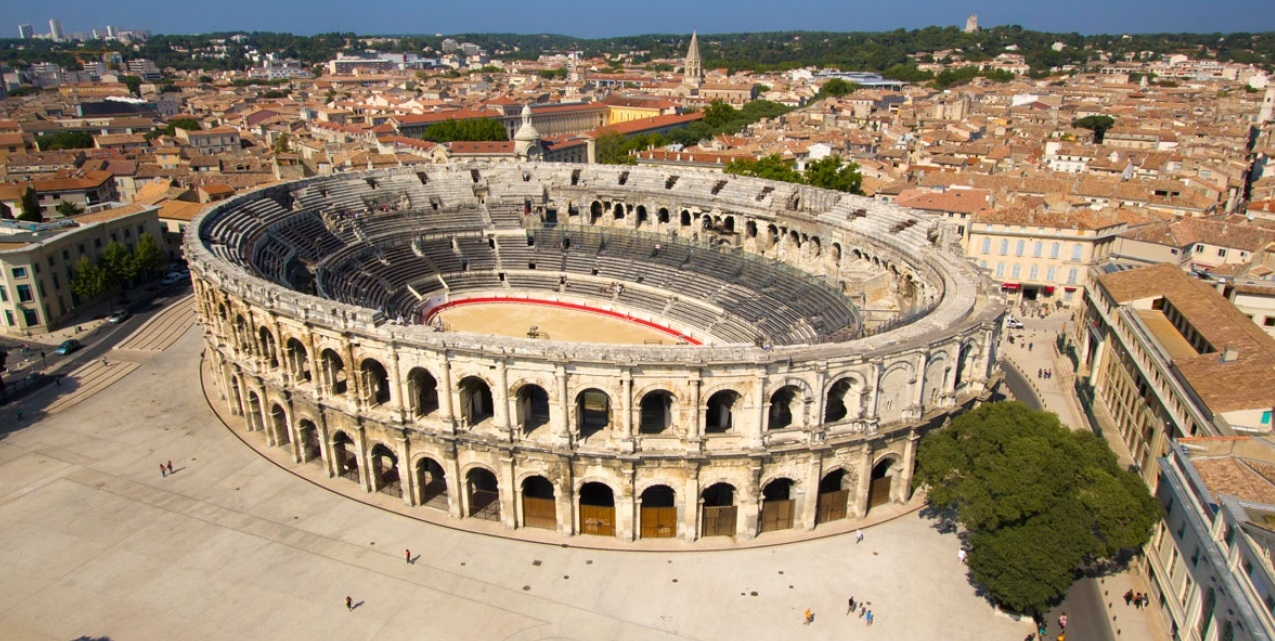 nimes-arenes-southern-france-tour