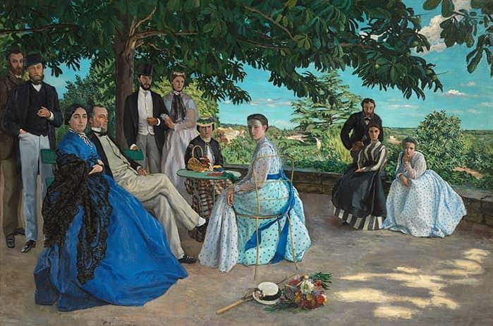 Frédéric Bazille, The Family Reunion