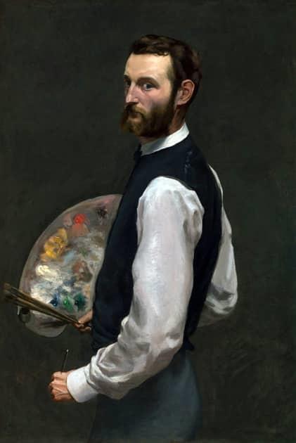 Frédéric Bazille, Self-Portrait