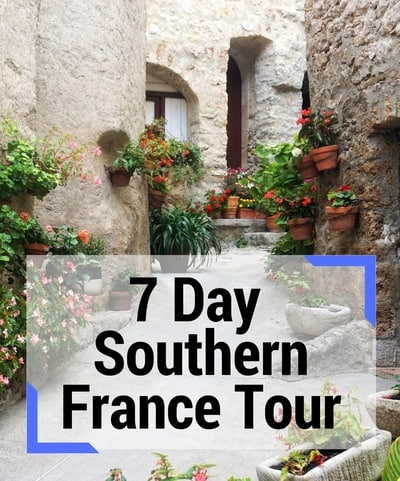 7 day south of france tour