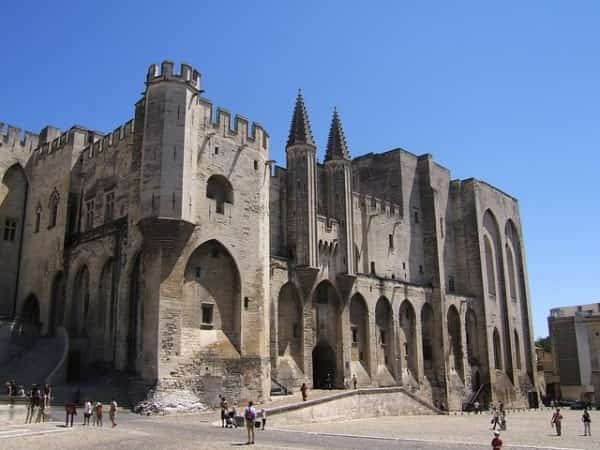 Avignon, major attraction in Provence
