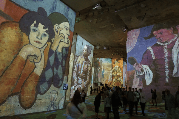 Carrières Lumières in Southern France