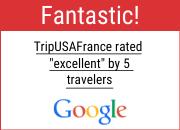 TripUSAFrance 5 stars tour reviews