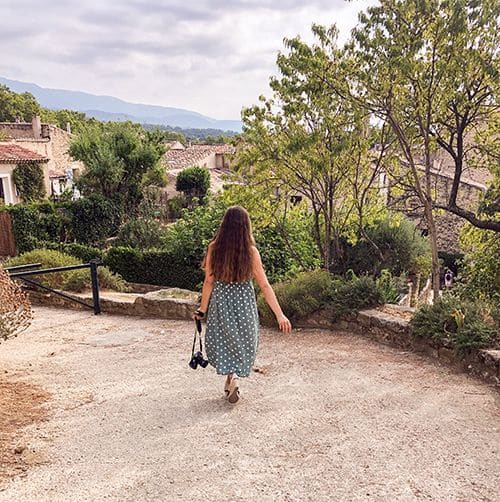living the dream in Provence blog